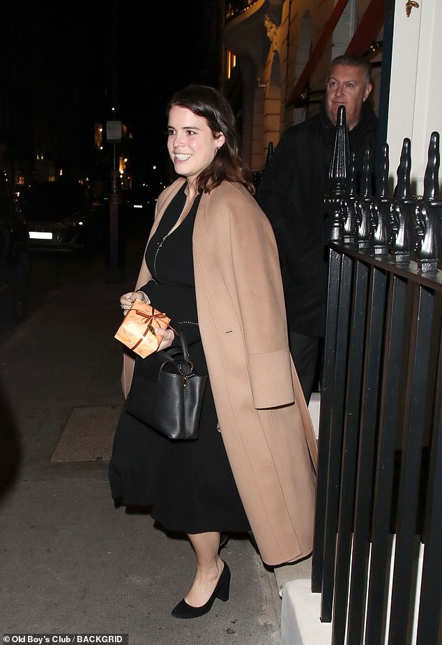, Princess Eugenie looks glam as she leaves private members club on her anniversary, Nzuchi Times National News