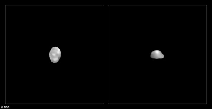 Kalliope and Psyche, the two densest objects imaged, have densities of 4.4 and 3.9 grams per cubic centimeter, respectively.  NASA is sending a mission to explore Psyche, said to be worth trillions of dollars in raw materials