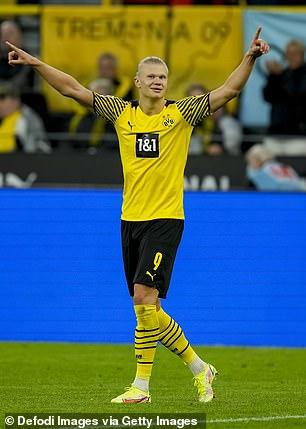 Borussia Dortmund and Norway star Erling Haalando