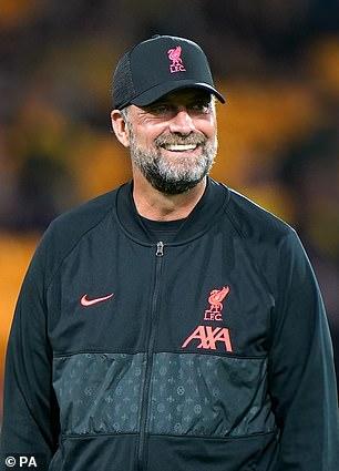 Liverpool boss Jurgen Kloppe