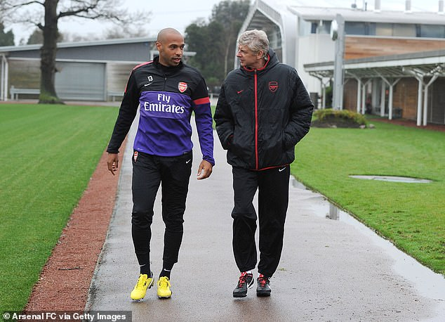 Wenger's new ideas were widely criticized, with his former Arsenal star Thierry Henry (left) against the proposals.