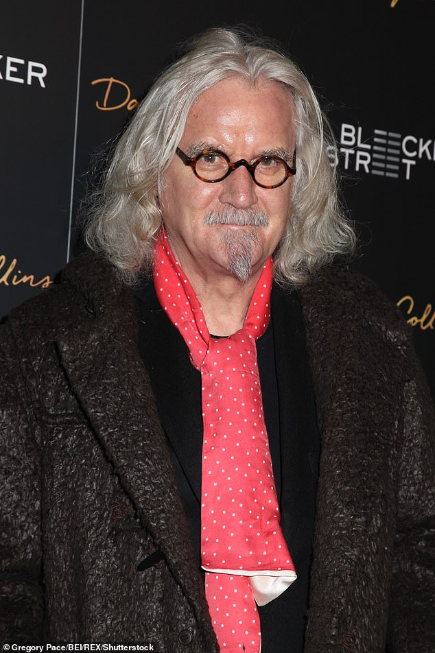 Cancelled: Sir Billy Connolly, 78, has insisted he 'would have been cancelled' had he started out as a comedian in 2021 (pictured in 2015)