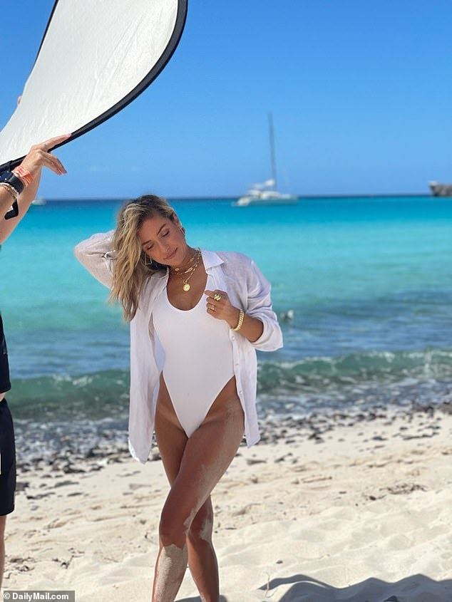 , Kristin Cavallari makes a splash in sexy bathing suit as she takes part in shoot in Cabo, The Habari News