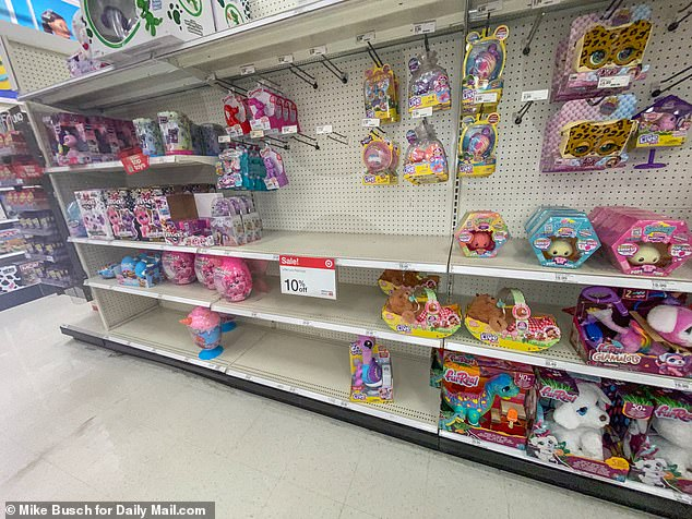 , White House warns parents might not be able to get kids' Christmas toys thanks to supply chain woes, The Today News USA