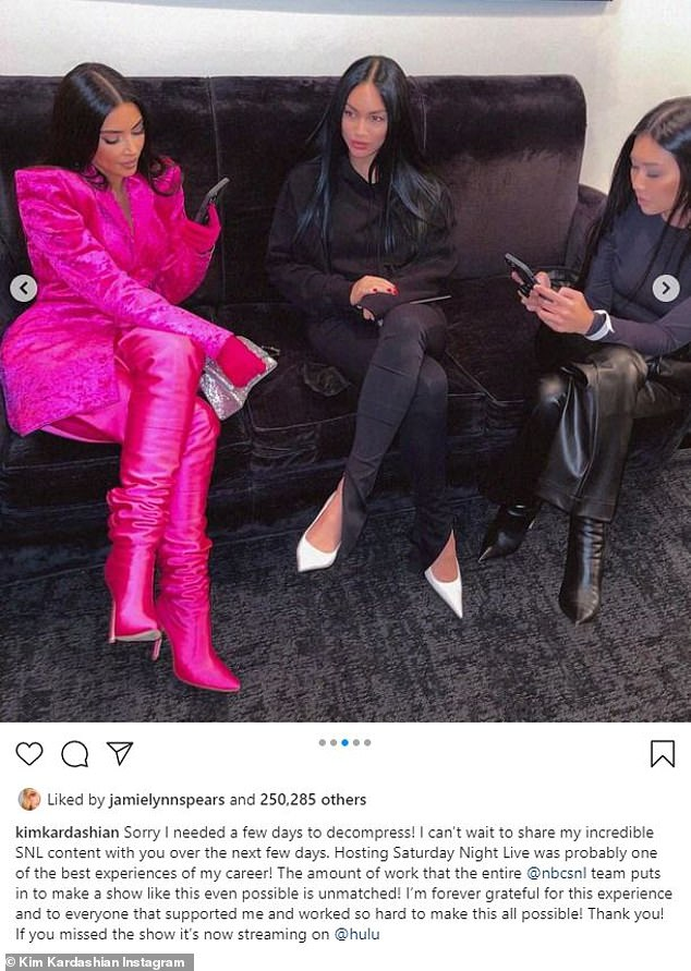 , Kim Kardashian gives fans a behind-the-scenes glance into her SNL preparations, The Today News USA