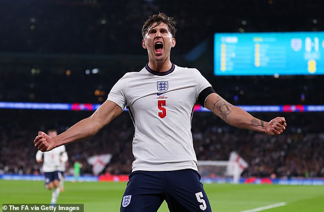It was left to centre-back John Stones to equalise for England as they struggled to a 1-1 draw