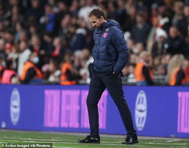 Gareth Southgate's team though still remain on course to qualify for the World Cup finals