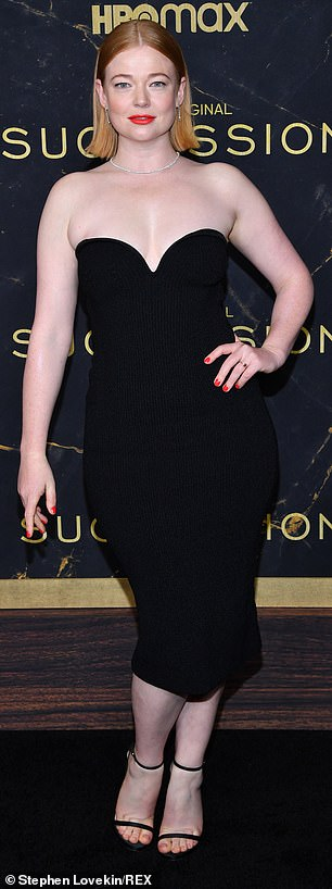 , Sarah Snook leads stars at the Succession season three premiere in New York, The Today News USA