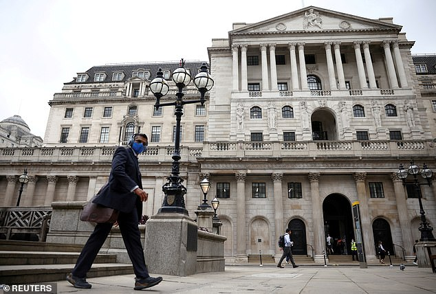 The Bank of England is expected to raise rates from 0.1 per cent to 0.25 per cent in December and then to 0.5 per cent in March in a battle to tame inflation