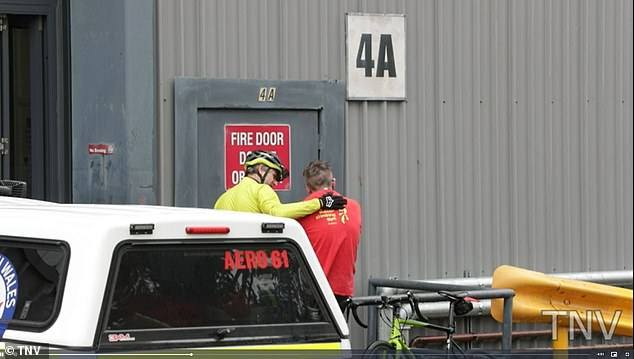 A man has fallen to his death while climbing a wall at Sydney indoor recreational centre where he suffered critical head and chest injuries