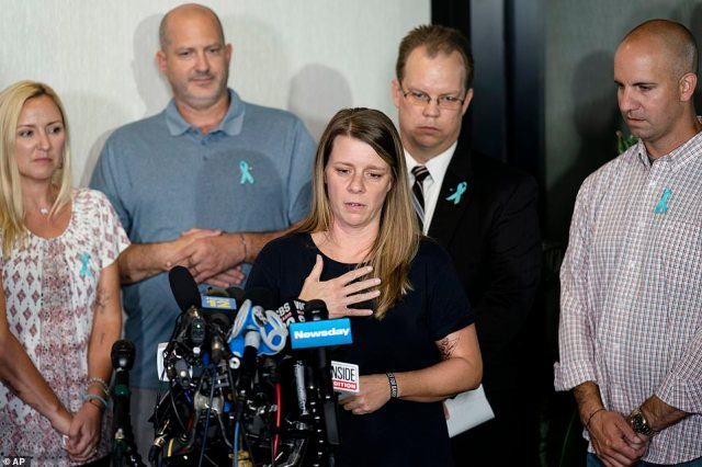 Petito's mother, Nicole Schmidt, texted a reported a curt, blunt response. 'His words are garbage. Keep talking,' she texted a reporter from WFLA in Tampa Bay