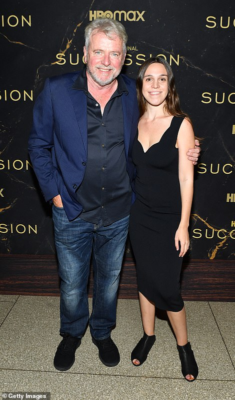 Bonding time:The 62-year-old actor brought along his 32-year-old daughter Ava Eileen, who he shares with wife Elizabeth Bracco, 63