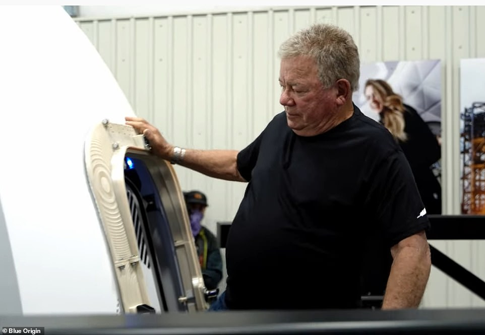 , Blue Origin to launch William Shatner into space TODAY with art Jeff Bezos made to play Star Trek, Nzuchi Times National News