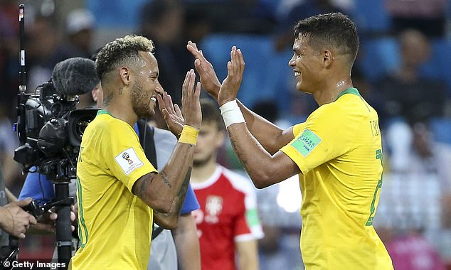 Silva has hailed his Brazil team-mate as 'a very special kid' as the defender comes to his aid