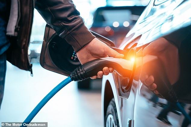 Pulling the plug? Chancellor Rishi Sunak is said to be plotting to make EV cars more expensive by reducing discounts towards their purchase