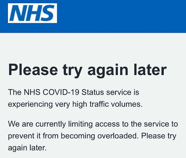 , More chaos for holidaymakers as NHS Covid vaccine pass app crashes, The Today News USA