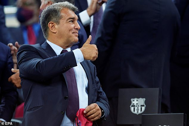 Joan Laporta is set to tie Pedri down to a new deal despite financial issues affecting the club
