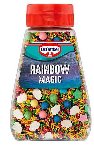 Dr. Oetker Baking Rainbow Magic Sprinkles 115g