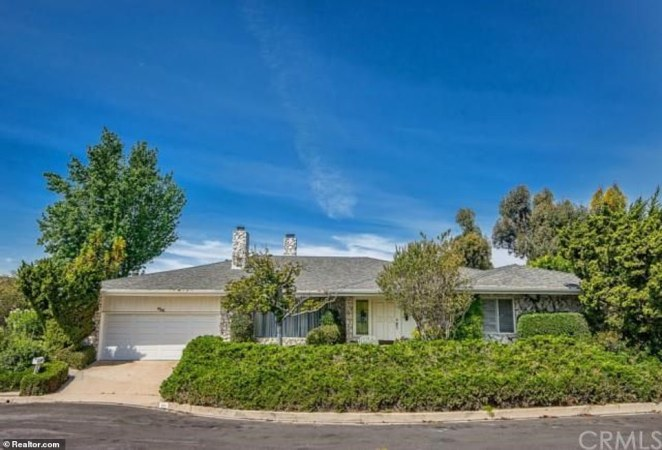 Musk also sold this Somera Road house for $4.4million. It was built in the 1960s and has apparently not been renovated since