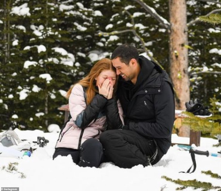 The equestrian and medical student announced her engagement to Egyptian show jumper Nayel Nassar, 30, in January 2020