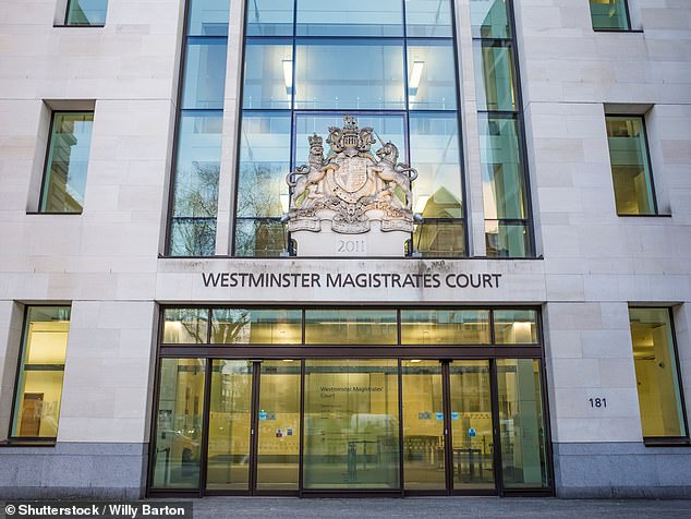 District Judge Angus Hamilton said at Westminster Magistrates Court today: 'His record shows a horrible hostility towards women, that may be made worse when he is drunk'