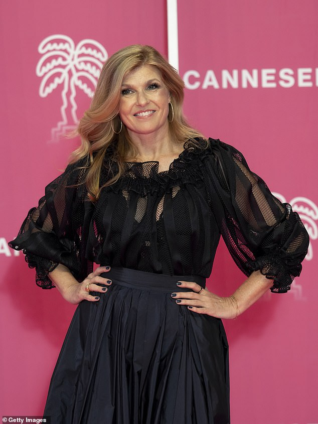 Love is in the air: Connie Britton is dating This Is Us writer and producer David E. Windsor; seen on Friday