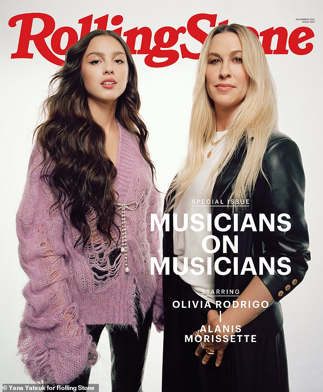 , Olivia Rodrigo says Alanis Morissette inspired her songwriting as they cover Rolling Stone, The Today News USA