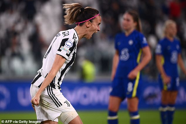 Nevertheless,Barbara Bonansea did provide Juventus with one goal on Wednesday evening