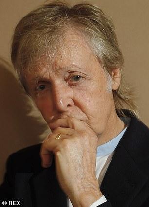 McCartney, who was a great fan of hair dye, has now allowed himself to go grey