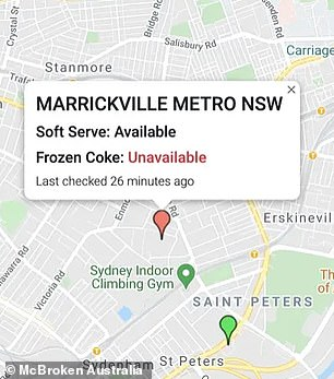, REVEALED: The game-changing app that tells you when any McDonald's soft serve machine is broken, The Today News USA