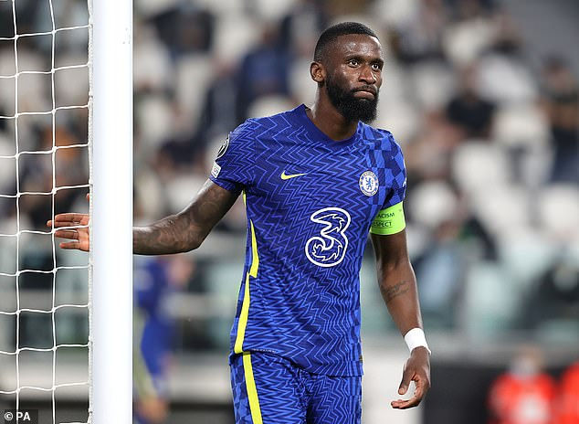 Chelsea's Antonio Rudiger has emerged as Real Madrid's top target for the January window
