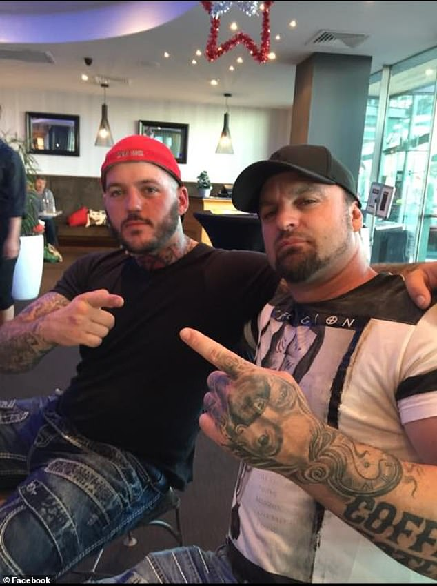 Chris 'Ballistic' Orchard (pictured right) is very concerned that a new law in Western Australia will force him to cover up his prized tattoos