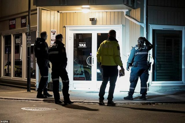 Police are investigating after a bow and arrows attack on members of the public in Kongsberg, Norway, left five dead and two more injured