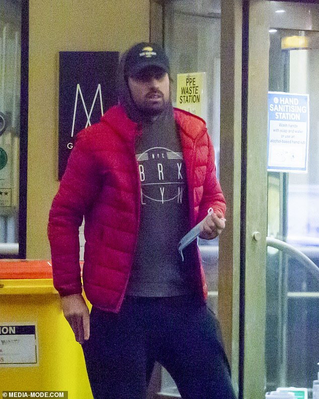 Tweet: Kyrgios' departure comes days after he posted a cryptic tweet from hotel quarantine, which some fans believed could have referred to Ms Passari