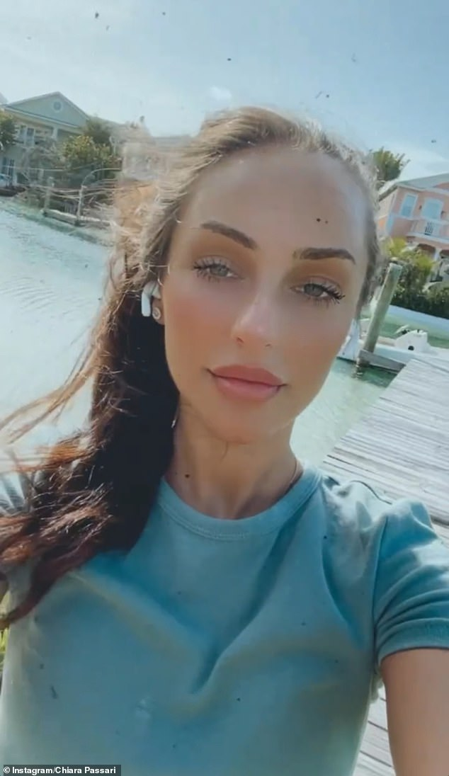 Remember me? While it's not known when Ms Passari left the hotel, she did upload an Instagram video around the time of Kyrgios' departure. The video, which appears to be a throwback, shows the brunette strolling around an unknown location in the daytime, wearing a green T-shirt
