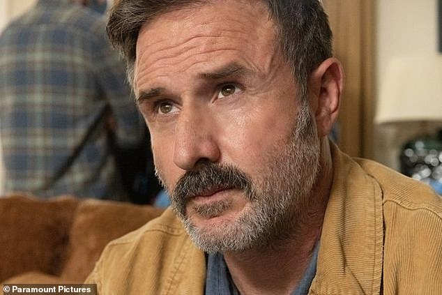 """'I sort of say a prayer to him and I feel his spirit around': The 50-year-old actor,who reprised his role as Dwight """"Dewey"""" Riley for the latest movie, told 9Honey what he did to honour late horror director Wes Craven on the set of Scream"""