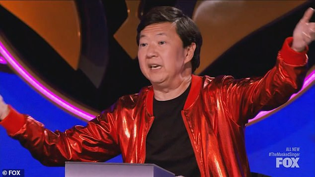 Good question: During the speed dating round of questions, Ken Jeong asked Mallard if he was