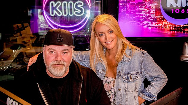A tough market: Southern Cross Austereo has acknowledged the underperformance of 2Day FM's Sydney breakfast and says it's been hard to build an audience since the exit of Kyle and Jackie O (pictured)