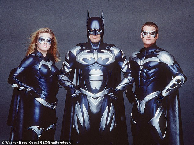 Flop:Clooney followed Michael Keaton and Val Kilmer playing Batman on the big screen, though Batman & Robin was a critical and commercial failure which effectively halted the franchise for several years