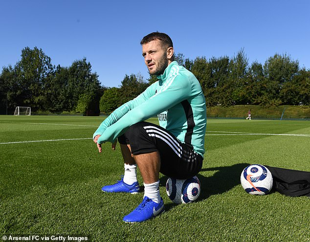 Jack Wilshere is training at Arsenal but is hoping to find a club to continue his playing career