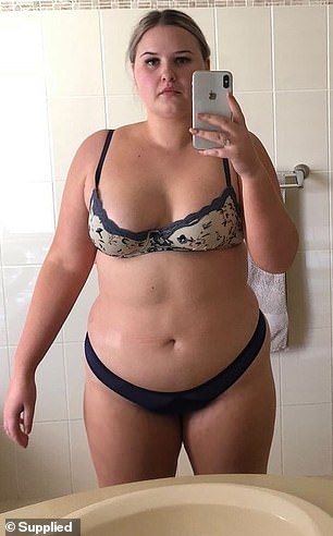 , Young woman whose mum didn't recognise her after eating fast food everyday reveals how she lost 30kg, The Today News USA