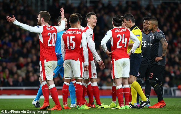 Arsenal have not been in Europe's elite club competition since the 2016-17 campaign