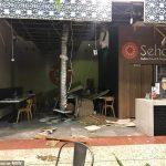 Westfield Mount Druitt west Sydney roof collapses during crazy storm 💥👩💥