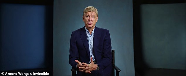 Legendary manager Arsene Wenger has reflected on his life in football for a new documentary