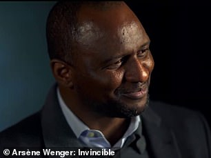 Fellow Arsenal giant Patrick Vieira admits that he 'would die' for Wenger due to his support for him