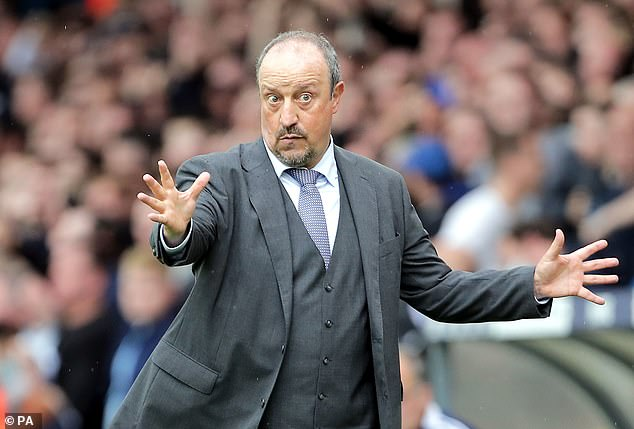 Rafa Benitez claims Everton 'did not know me as a professional' during his job interview
