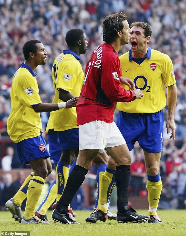 Martin Keown's infamous goading of Ruud van Nistelrooy encapsulated the snarling nature of Wenger's early Arsenal teams, which would later gain a reputation for becoming too soft