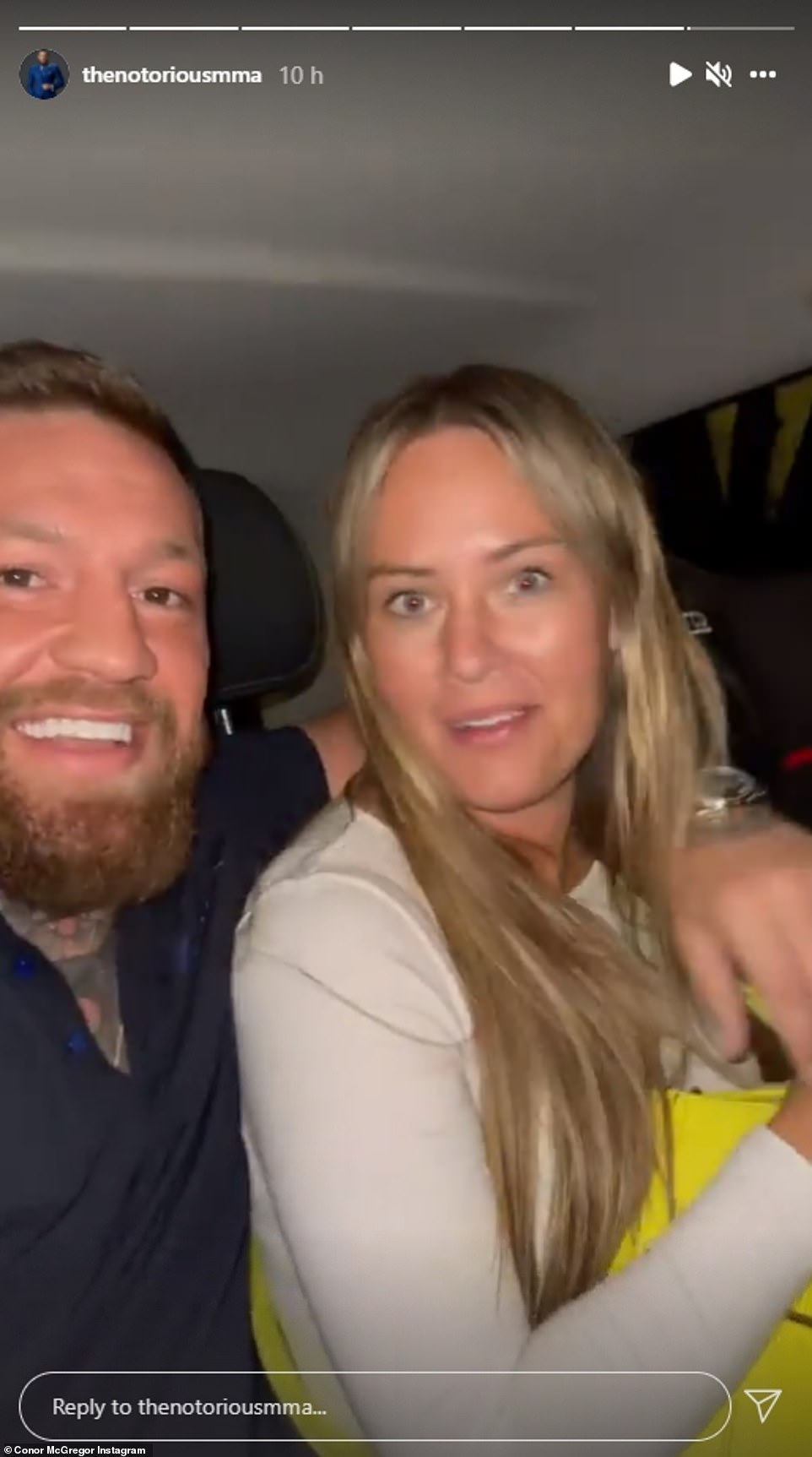 , Conor McGregor is flanked by FOUR security guards in Rome with fiancée Dee Devlin, The Habari News New York