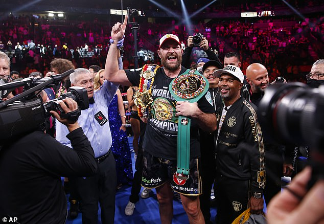 The Gypsy King outlined his five-fight plan in September, starting with victory over Wilder