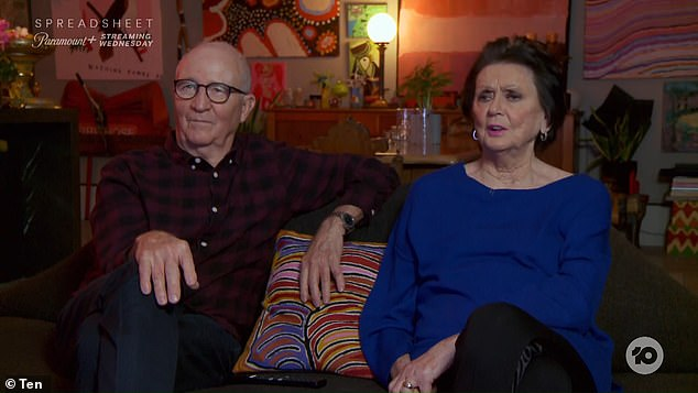 It's strange!  On Thursday's episode of Gogglebox, Di Kershaw was flabbergasted when she realized she had no idea who the celebrities of The Masked Singer Australia were.  In the photo, Di and her husband Mick
